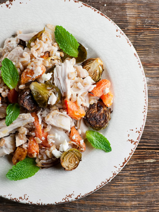 Chicken Farro Salad