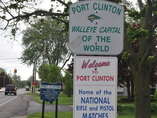 PTC Port Clinton sign stock 3