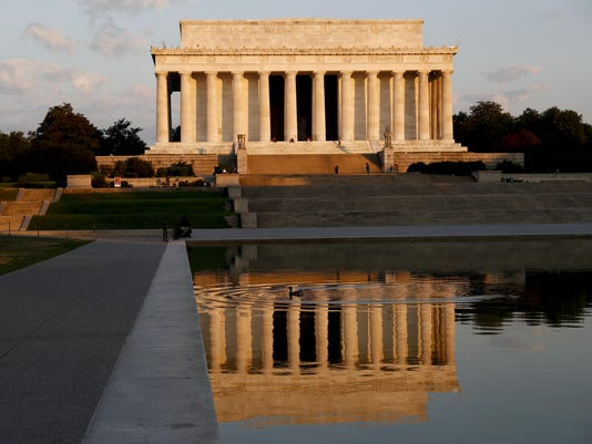 Lincoln Memorial Defaced
