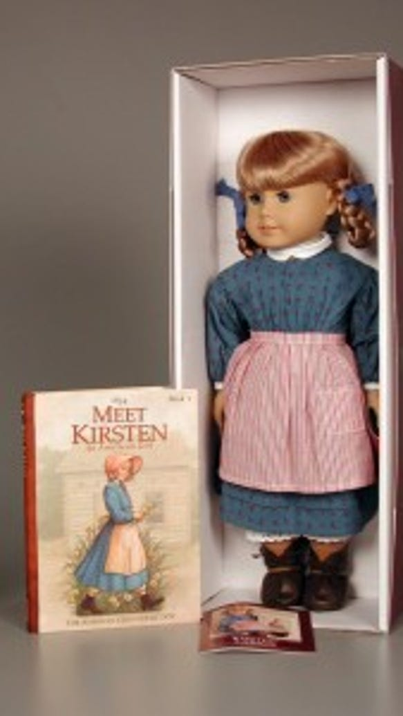 Kirsten doll, American Girl, 2003, courtesy of The Strong, Rochester, New York.