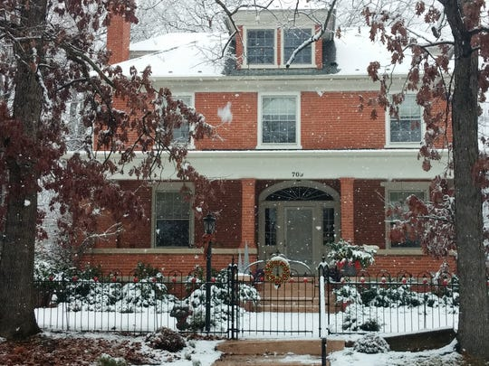 The Doherty home at 709 Pine Ave. in Waynesboro was part of the 2015 Holiday House Tour.