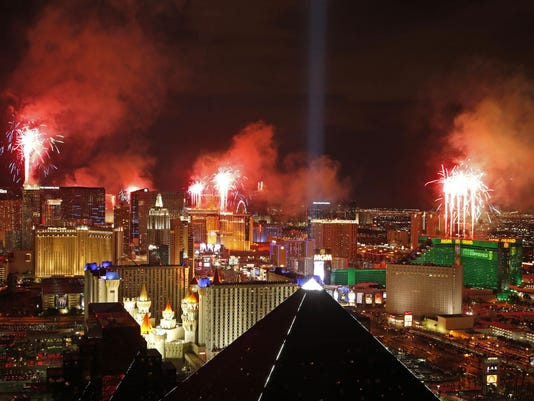 New Years Eve Vegas Safety