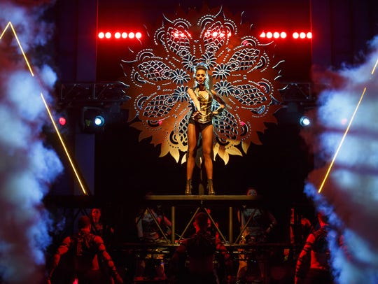 "Deborah Cox stars in the musical ""The Bodyguard"""