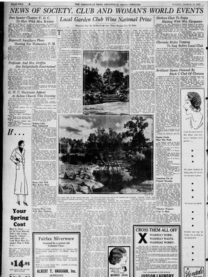 The Greenville News on March 13, 1932.