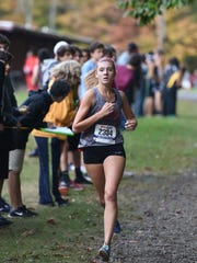 Lakeland senior Samantha Biss finished second overall in the girls' Big North-Independence League meet.