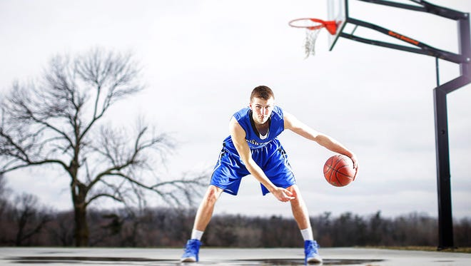 Wrightstown's Zac Haese is the Green Bay Press-Gazette's boys basketball player of the year.
