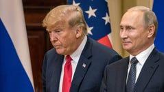 President Donald Trump and Russian President Vladimir