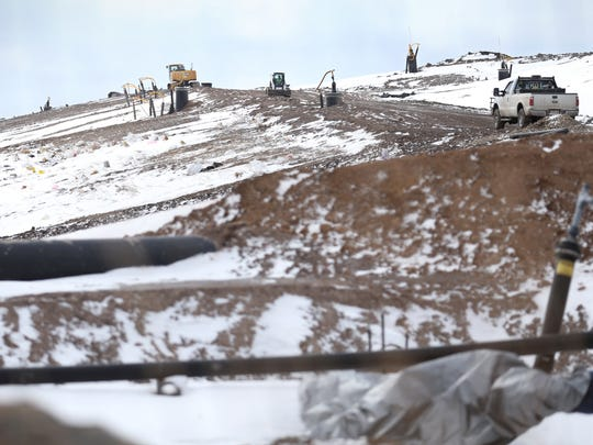 High Acres landfill in Perinton, Friday, March 16,