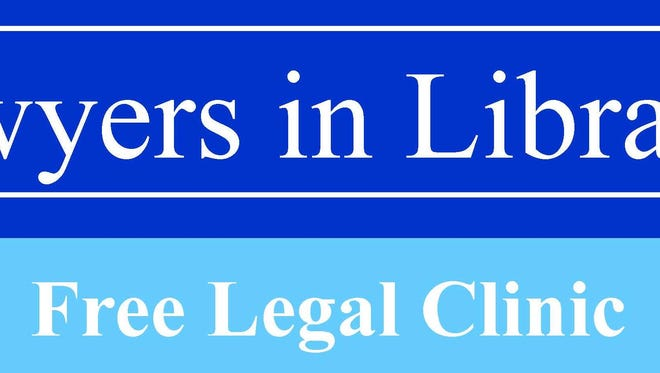 A free legal clinic is set for 10 a.m. to 2 p.m. Thursday in the Rapides Parish Library's Main Library at 411 Washington St. in downtown Alexandria.