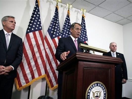 John Boehner, Steve Scalise, Kevin McCarthy