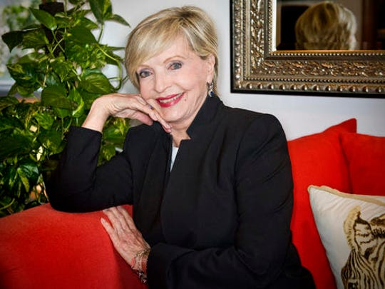 "In this May 2015 photo, actress Florence Henderson spoke during the Alzheimer's Association, Orange County's 9th annual Visionary Women Luncheon at Rancho Las Lomas in Silverado, Calif.  Henderson, the wholesome actress who went from Broadway star to television icon when she became Carol Brady, the ever-cheerful matriarch of ""The Brady Bunch,"" has died, her manager and her publicist said. She was 82. Henderson died Thursday night, Nov. 24, 2016,  at Cedars-Sinai Medical Center in Los Angeles, after being hospitalized the day before, said her publicist, David Brokaw."