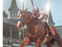 Courier Journal's 2018 Kentucky Derby photo pays homage to Fighting Finish