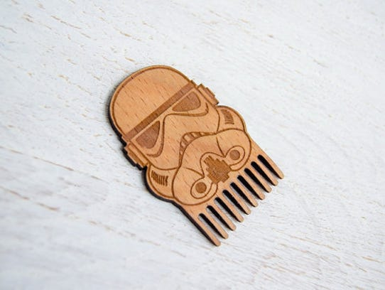 Beard comb, $9.50.