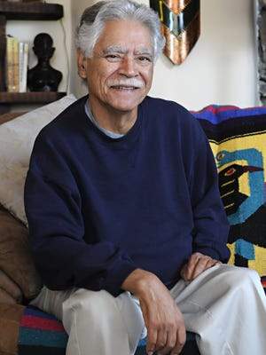"In this April 28, 2011, photo, author Rudolfo Anaya poses for a photo at home in Albuquerque, N.M. Anaya's famed novel ""Bless Me, Ultima,"" one of the most recognizable works of Mexican-American literature, is being made into an opera. The National Hispanic Cultural Center in Albuquerque announced it is collaborating with Opera Southwest to commission the work based on a New Mexico boy and a traditional healer. It will be written by California-based composer Hector Armienta and is slated to be produced in 2018."