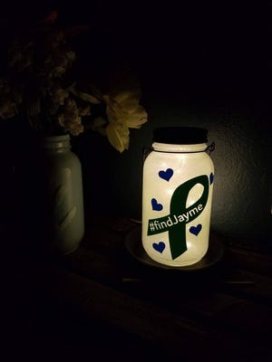 Profits from the $20 solar lanterns made by Melissa Salmonson go to the Closs family.