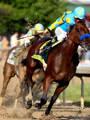 All eyes will be on American Pharoah at the Belmont Stakes, June 6, to see if he can make history by winning racing's Triple Crown: Kentucky Derby, Preakness and Belmont.