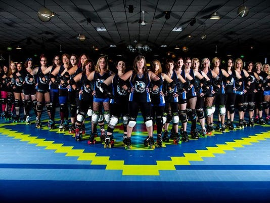 Cornfed Derby Dames team