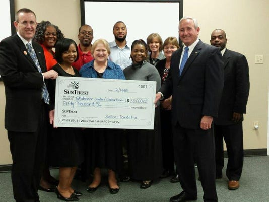 SunTrust grants $50,000 to Tallahassee Lenders Consortium
