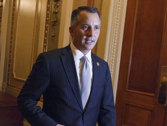 """U.S. Rep. David Jolly told the Washington Post on Monday that it is """"fully appropriate"""" for a state to recognize same-sex marriages along with those occurring between one man and one woman. ASSOCIATED PRESS FILE PHOTO"""