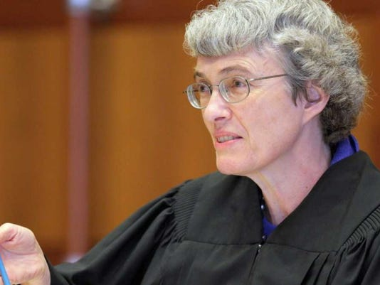 Superior Court Judge Mary Jacobson in a September 2013 file photo. (AP)
