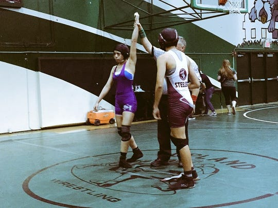 Even as a freshman, Shadow Hills' Caitlin Cardenas won her share of wrestling matches this season, less than a year after taking up the sport. She came into the 2014-15 season ranked seventh in her weight class in California and comes into the CIF Southern Section Girls Individual Wrestling Championship slated in the top five.