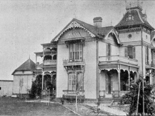 Home of Col. J.H. Parramore