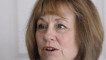 U.S. Senate candidate Sharron Angle during an interview at her Reno home on July 12, 2010.