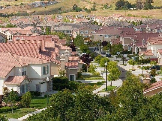 A new housing development in San Jose, California.