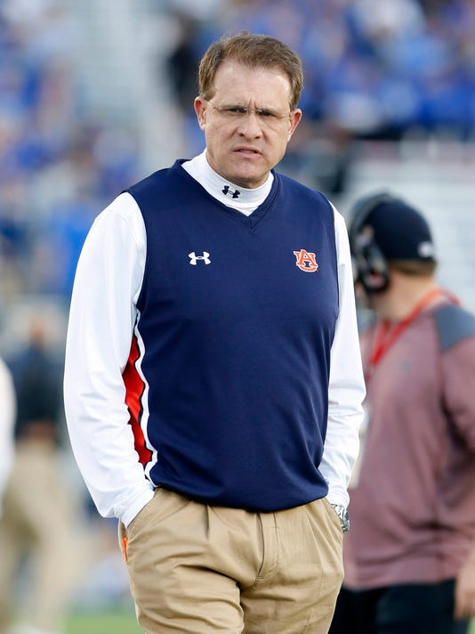 NCAA Football: Auburn at Kentucky