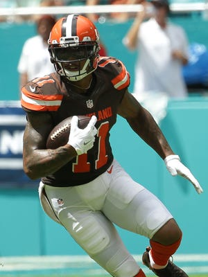 Cleveland's Terrelle Pryor has started at quarterback 10 times in his NFL career.