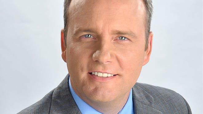 WCPO-TV (Channel 9) reporter Brendan Keefe