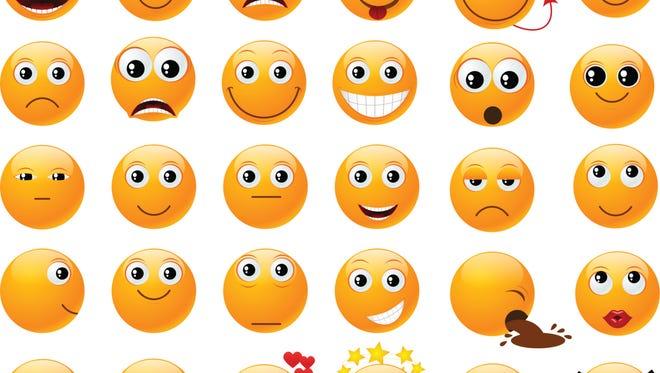 Emoticons.
