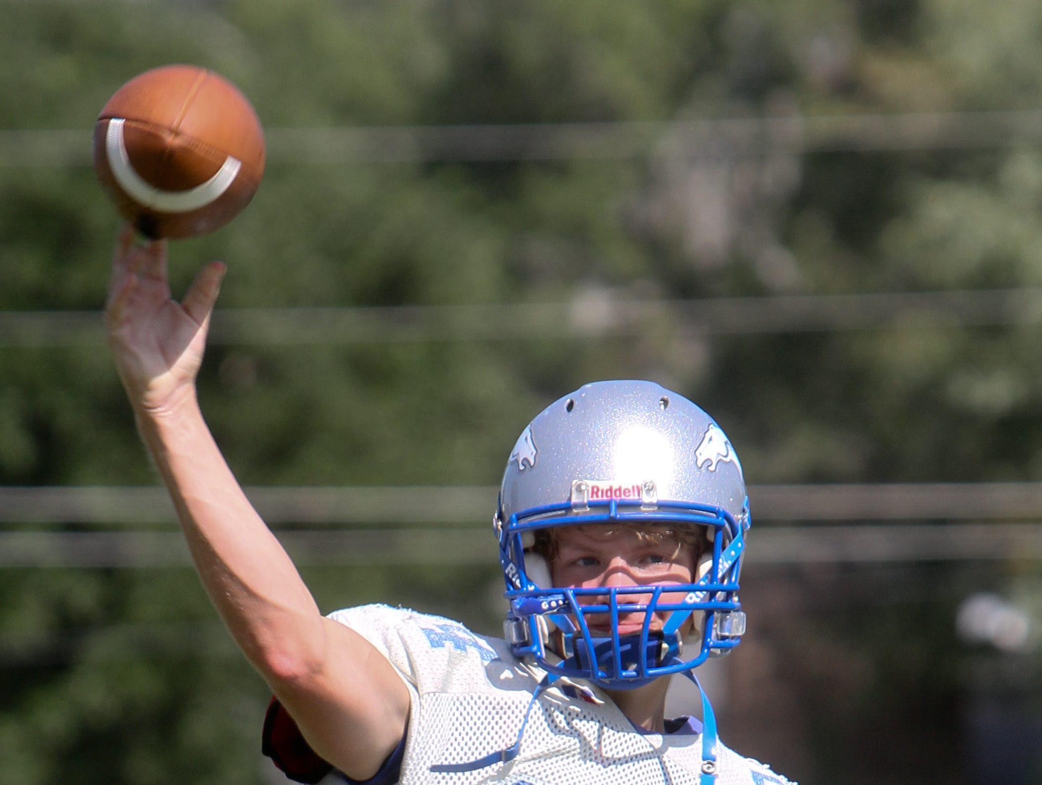 Senior J.P. Pierce will get the start at quarterback against Claiborne Academy in place of senior Brendan Macgregor, who is being held out with a knee injury.