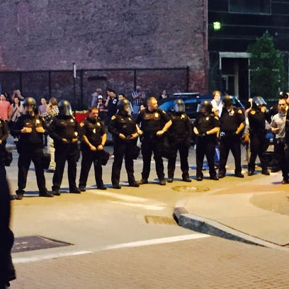 East 4th and Prospect, Demonstrations