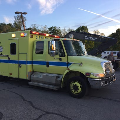 May 25, 2015: Water rescue underway at Wildwood Park