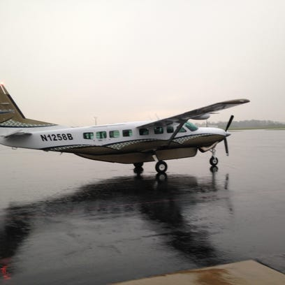 Air Choice One's first commercial flight from Jackson