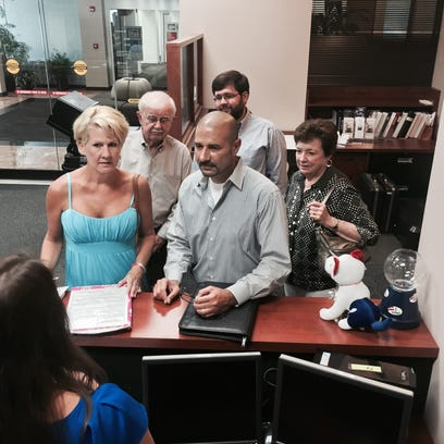 Rocky Hanna filed for the superintendent of schools