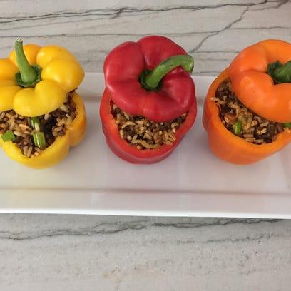 Stuffed peppers pic
