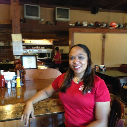 Joy Cobb-Marcus, owner of Malibu's Sports Grille &