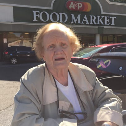 Mae Tyropolis, of Yonkers, has shopped at the A&P on