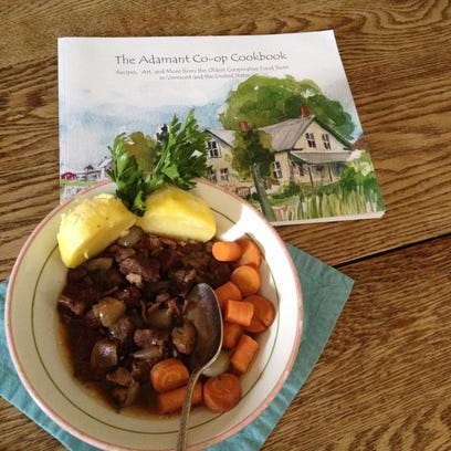 Boeuf Adamant -- a rich beef stew -- is featured in