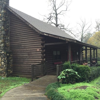 The log cabin in McPherson Park is now available for