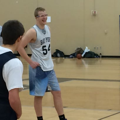 Bay port sophomore Jack Plumb already has received
