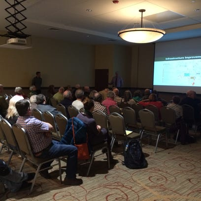 About 75 residents attended a public meeting Wednesday