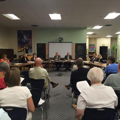The South Burlington School Board met on Tues., Aug.