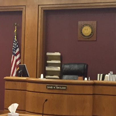 Inside  the family preservation drug court during a