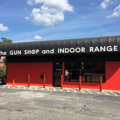 New bollards have been installed at The Gun Shop in