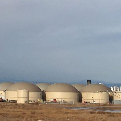 Heartland Biogas near LaSalle has been shut down.