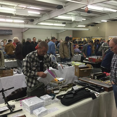 People packed the Richland County Fairgrounds for the