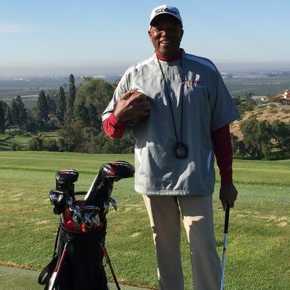 Golf teaching professional Jeff Jones is also coaching
